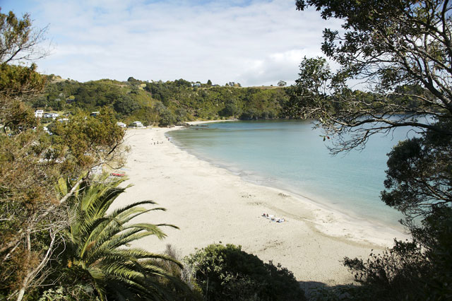 Beach On Waiheke Island