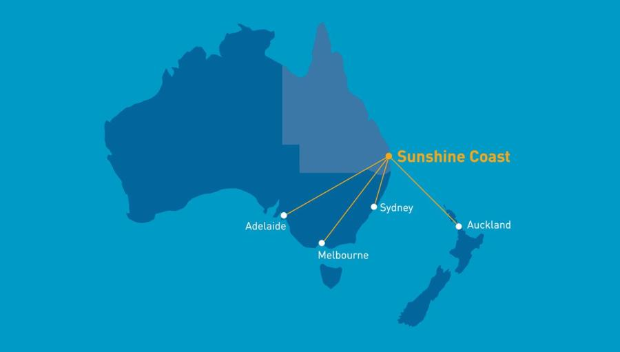 Flights to sunshine coast from melbourne