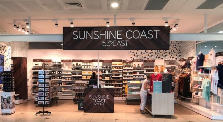 Sunshine Coast Airport Concept Shop Promotes Local Businesses