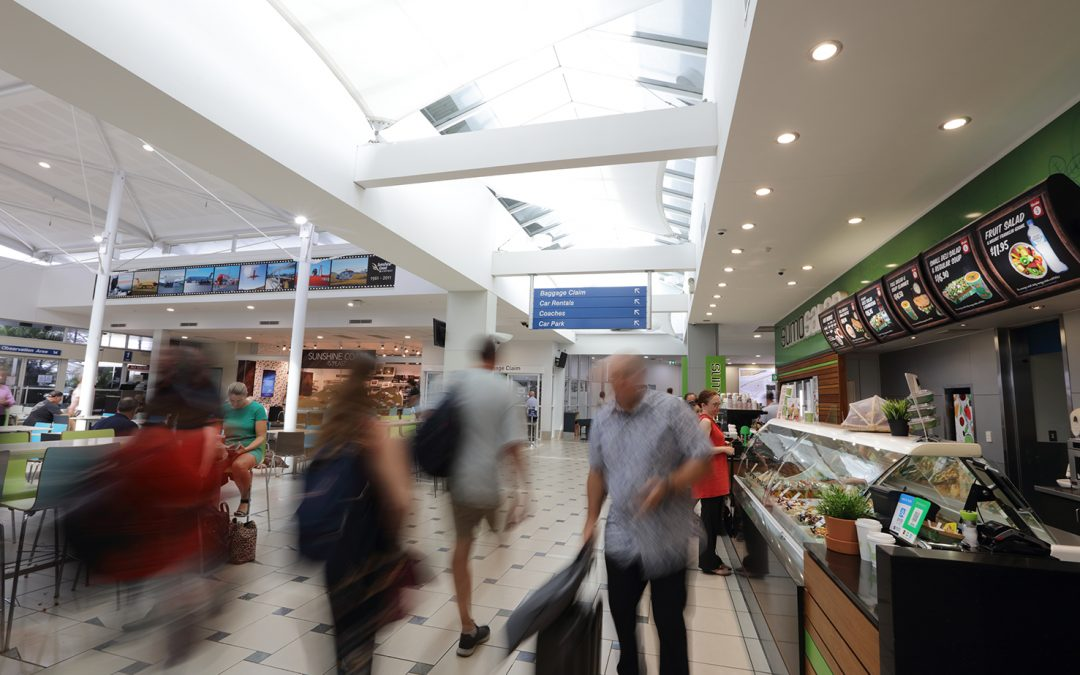 Sunshine Coast Airport passenger records soar