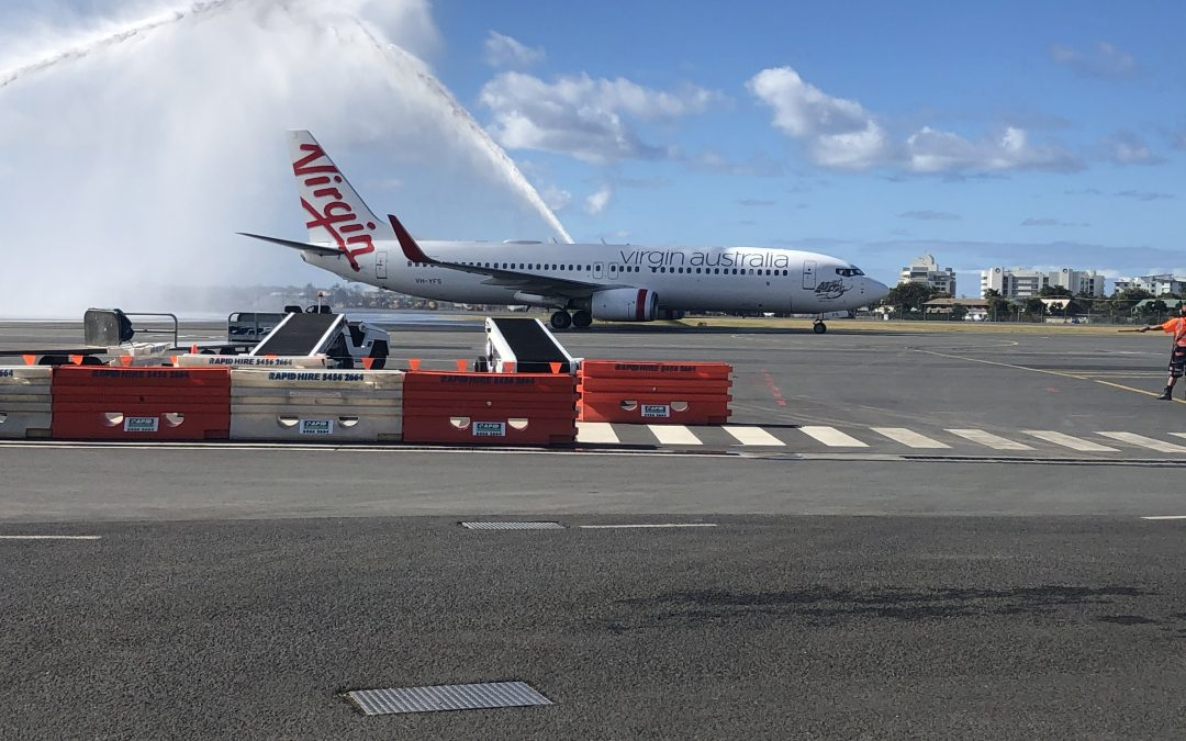 Sunshine Coast Airport welcomes first flight as Queensland border reopens