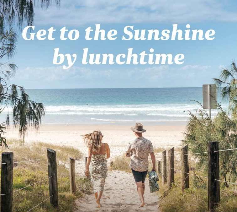 """""""Get to the Sunshine by lunchtime"""" – New Air New Zealand campaign entices Kiwis to fly direct to the Sunshine Coast for a warm winter"""